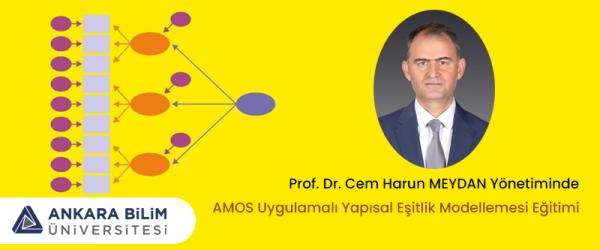 AMOS Uygulamalı Yapısal Eşitlik Modellemesi Eğitimi